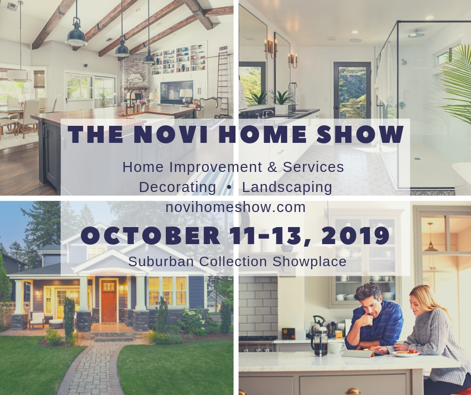 Social media meme for October Novi Home Show